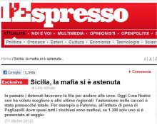 mafia astenuta
