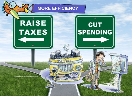 Demata - Fiscal Cliff More Efficiency