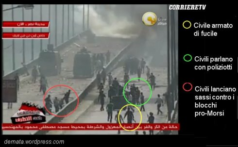 Nasr City - Civili armati