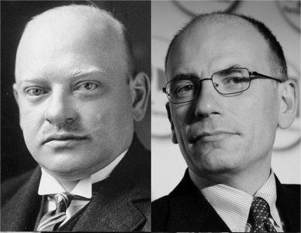 Gustav Stresemann (premier tedesco 1929) - Enrico Letta (premier italiano 2013)