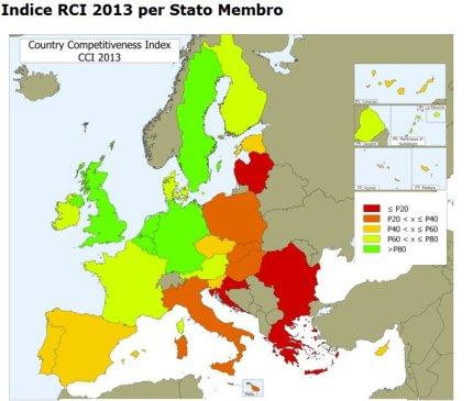 Indice di Competitività UE 2013