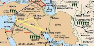 Syrian Pipelines Siria Oleodotti