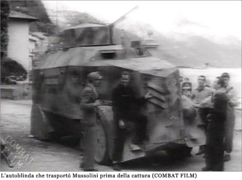autoblinda Mussolini Dongo