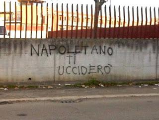 scritta napoletano uccidere