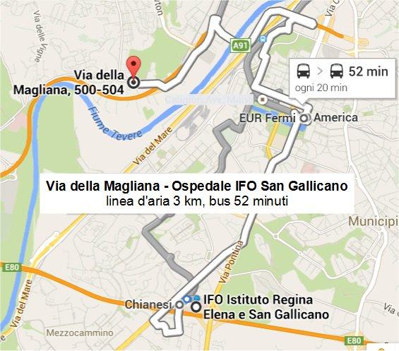 Magliana - Ifo San Gallicano