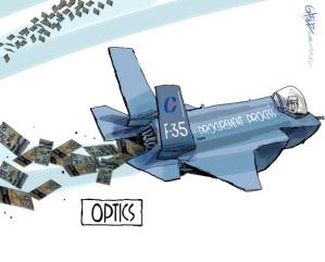 F35 sprechi