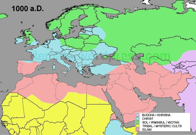 RELIGIONS EXPANSION 1000 aD L