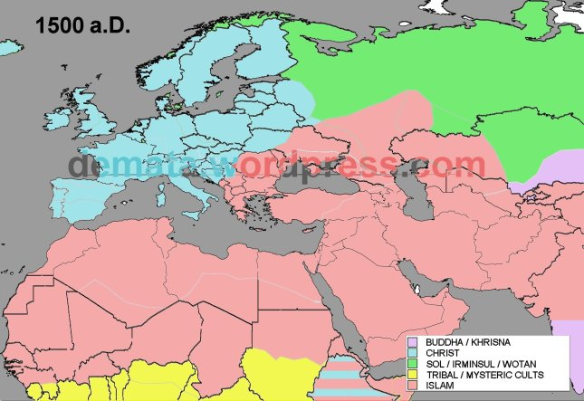 RELIGIONS EXPANSION 1500 aD L