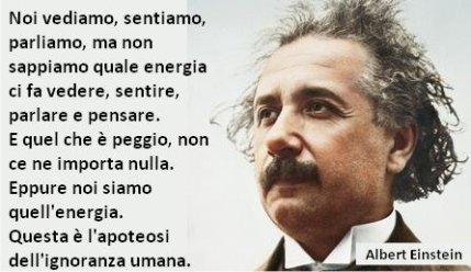 Ignoranza Einstein