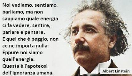 Ignoranza Einstein