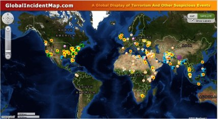 Global Terror Map