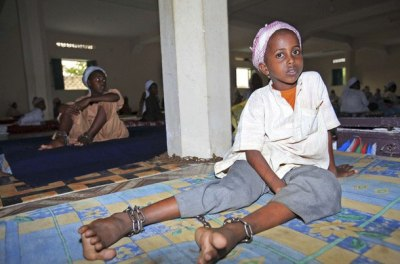 somalia child in chains