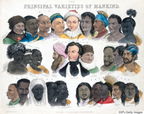Principal Varieties of Mankind, 3 May 1850.