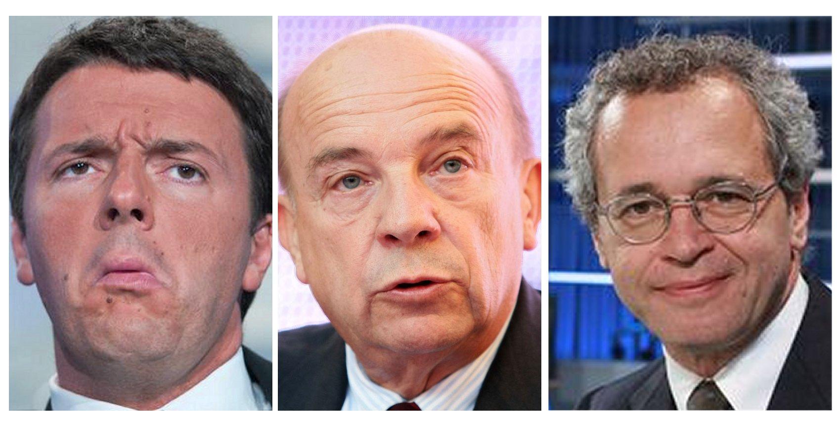 Referendum: Renzi-Zagrebelsky 1 – 2