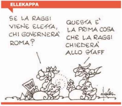 vignetta-ellekappa-virginia-raggi-e-lo-staff-801823