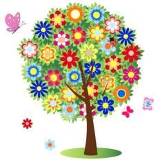 23552126-albero-in-fiore--illustrazione-vettore