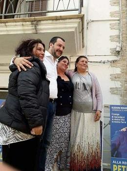 salvini donne rom termoli