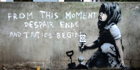TOPSHOT-BRITAIN-POLITICS-ENVIRONMENT-CLIMATE-DEMONSTRATION