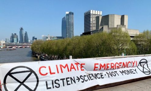 extinction rebellion listen science not money