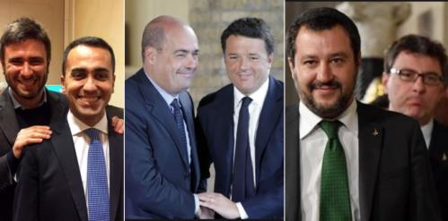 di-battista-di-maio-zingaretti-renzi-salvini-giorgetti-1202584