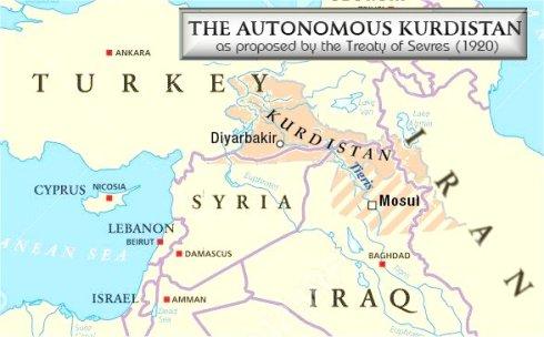 kurdistan 1920