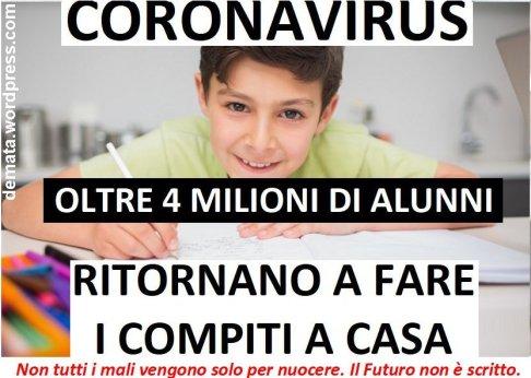 Coronavirus Compiti a casa D